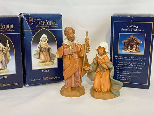 Mary and Joseph Nativity Figurines
