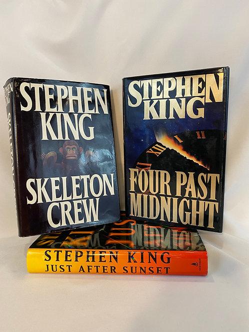 Stephen King 3 Book Set