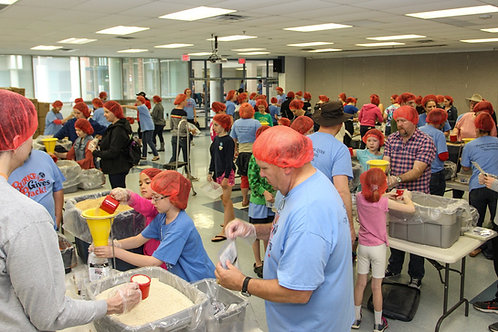1,515 Rise Against Hunger Meals