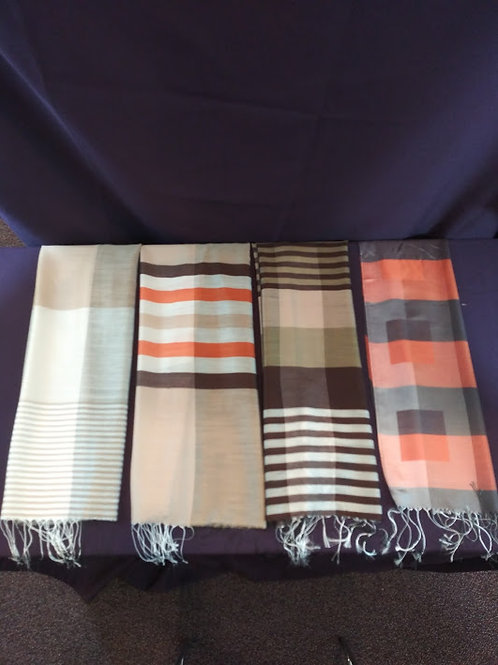 Silk Scarves from Cambodia