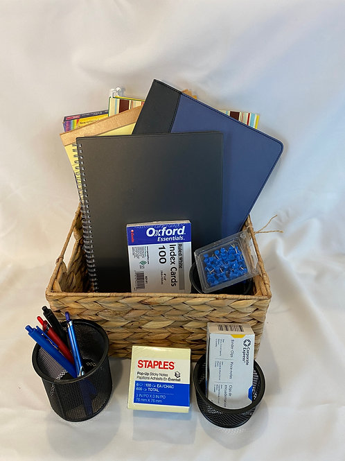 Office Supply Gift Basket