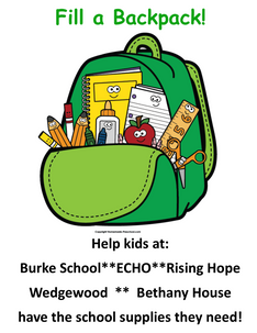 Fill A Backpack 2018