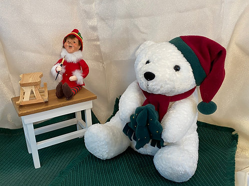 Christmas Bear and Elf Set