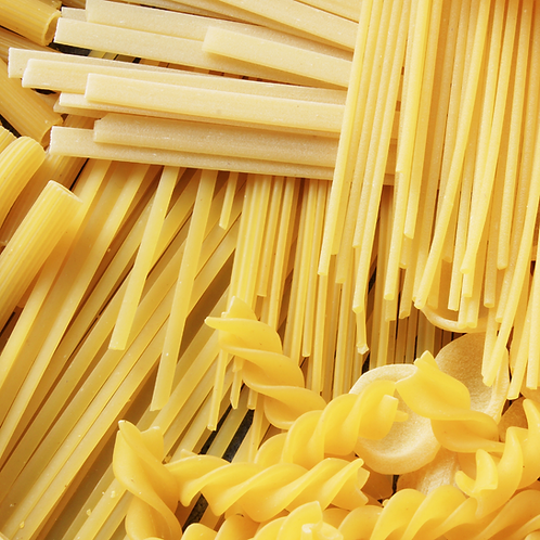 Pasta for 100 weekend food bags