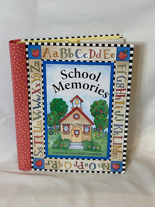 School Memories Scrapbook
