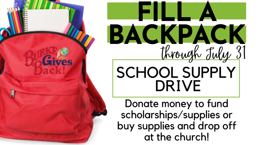Fill A Backpack!