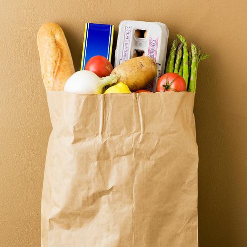 One weekend food bag