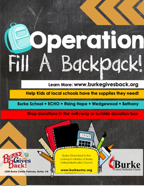 Operation Fill A Backpack 2019