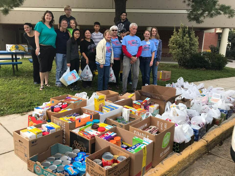 Burke Gives Back Feeding the Hungry