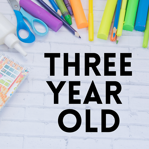 One month preschool tuition – 3year olds