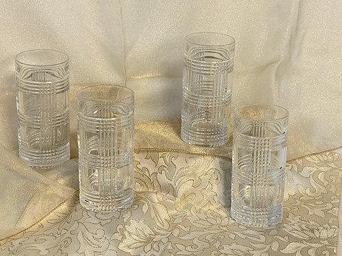 4 Ralph Lauren Highball Glasses