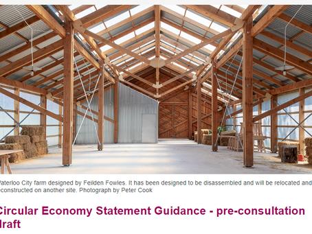 London publishes Circular Economy Statement Guidance