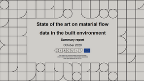 State of the art on material flow data in the built environment summary report
