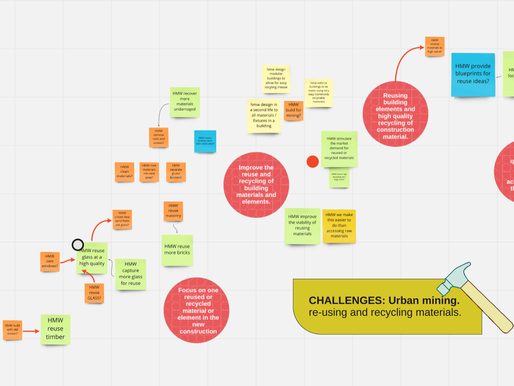 How might we turn circular construction challenges into experimenting opportunities?