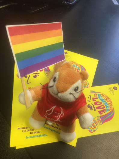 Squirrel at Pride