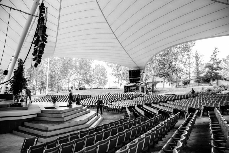 Preparing the Amphitheatre