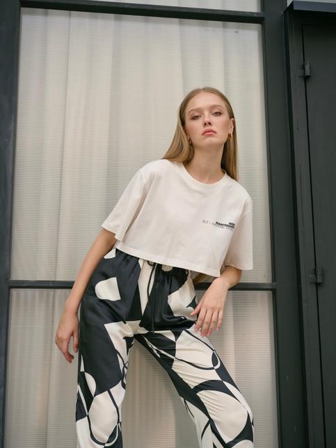 Rich T-shirt + Adeline pants