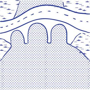 INSULARITÉ: Une déconnexion au reste du territoire pâtissant de l'insularité de la commune mais offrant un caractère fluvial à reconquérir.