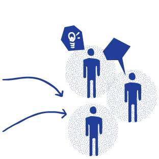 Les ressources diffusées ou stockées peuvent être sollicitées par les habitants ou les associations locales pour mettre en oeuvre leurs projets.