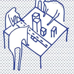 Les architectes de quartier illustrent les projet possibles (maquette, schéma d'acteurs, chantier, signalétique, évènement) pour laisser les habitants s'y immisser, lever le voiles sur les conflits d'intérêts, identifier les freins et évaluer leur pertinence.