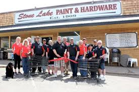 Stone Lake paint & Hardware WebsiteD
