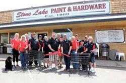 Stone Lake paint & Hardware WebsiteD