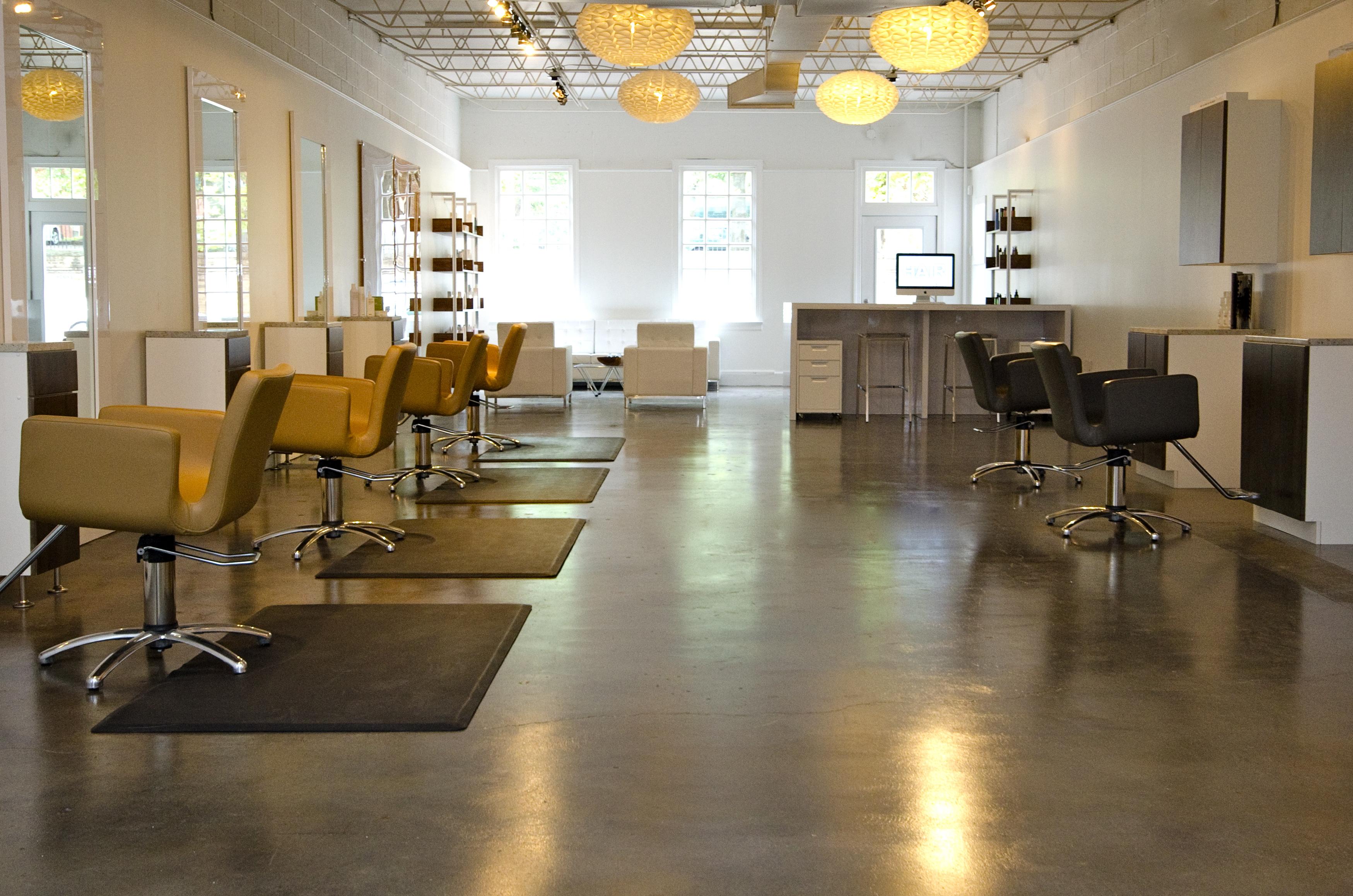 Salon overview.