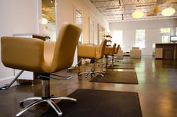 Salon cutting area.