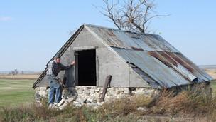 Descendant of Belmont founder visits family former homestead