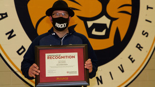 Tyler Crayston recognized by his peers
