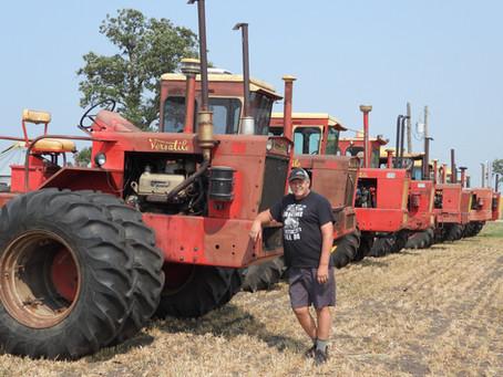 Area farmer honours legacy of four-wheel drive tractors