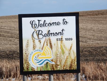 Belmont installs new signage on Highway 23