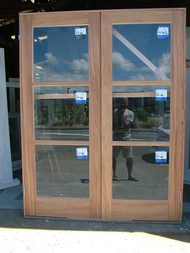 Exterior French Doors with Double Glazing