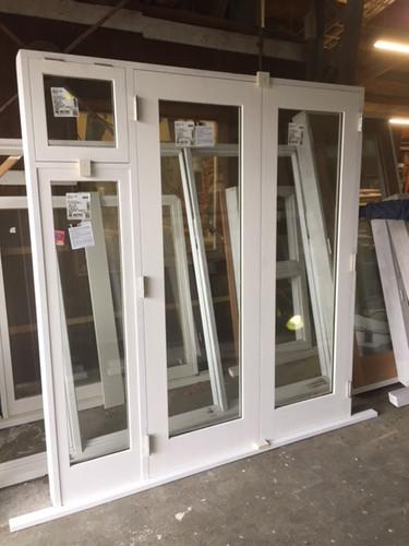 Clear Cedar French Doors