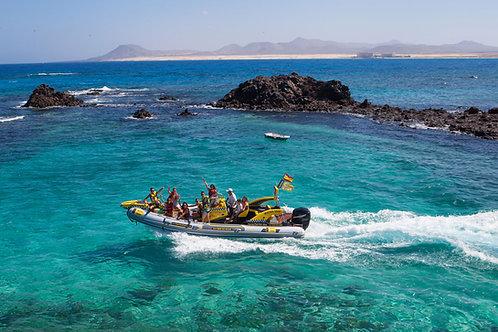 Wyspa Lobos - Taxi wodne w dwie strony
