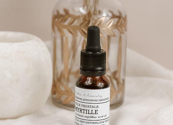 Huile végétale de Myrtille - Make It Beauty