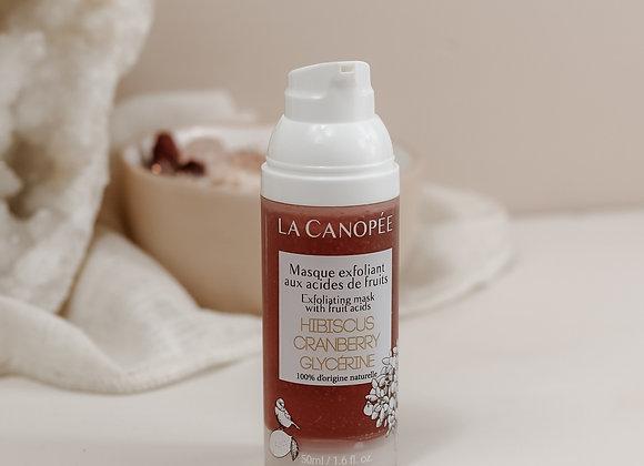 Masque exfoliant aux acides de fruits - La Canopée