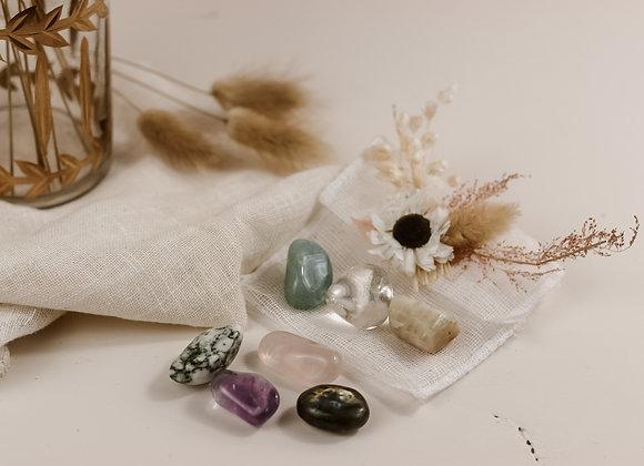 Pochette 7 cristaux
