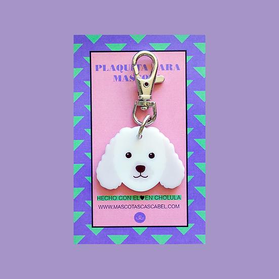 """Plaquita """"Poodle"""""""