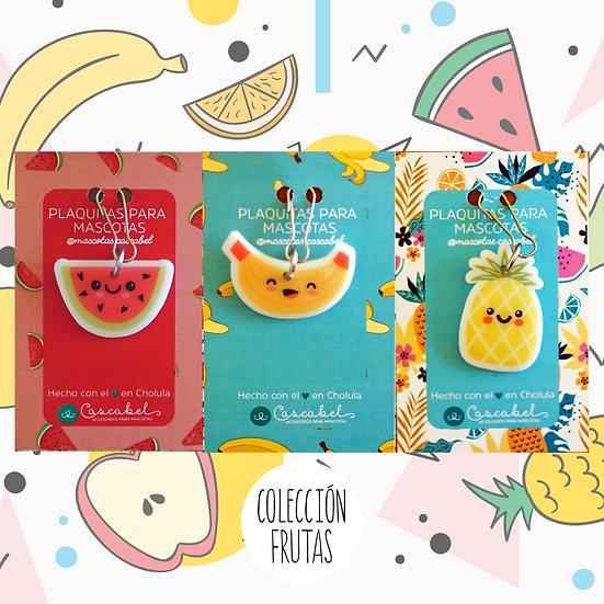 """Colección de plaquitas """"Frutas"""""""