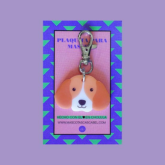 "Plaquita ""Beagle"""