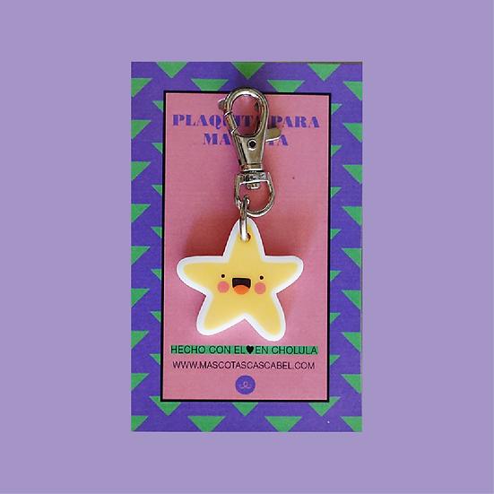 """Plaquita personalizada """" Estrella de Mar"""""""