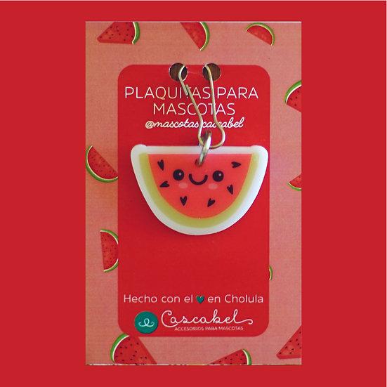 """Plaquita personalizada """"Sandía"""""""