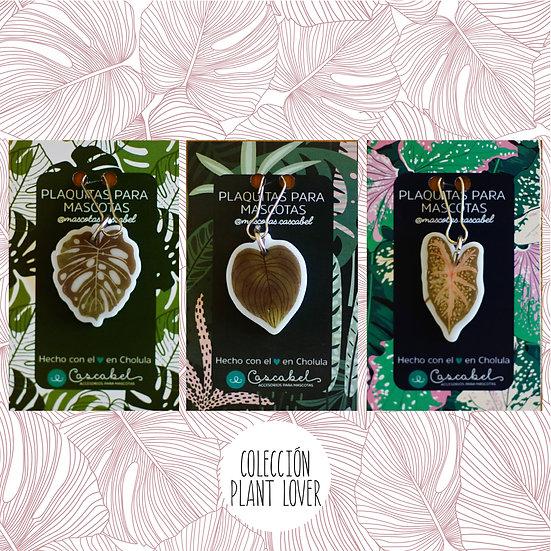 """Colección de plaquitas """"Plant Lover"""""""