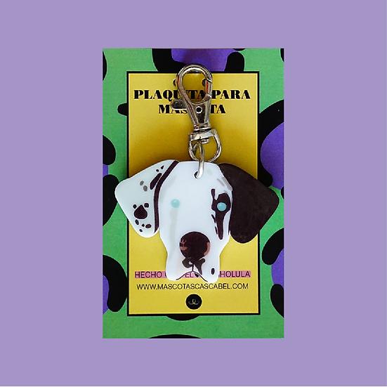 """Plaquita """"Gran Danés"""""""