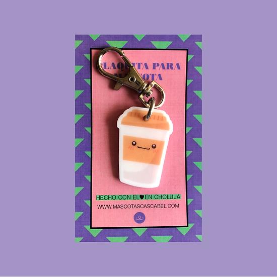 """Plaquita personalizada """"Café"""""""