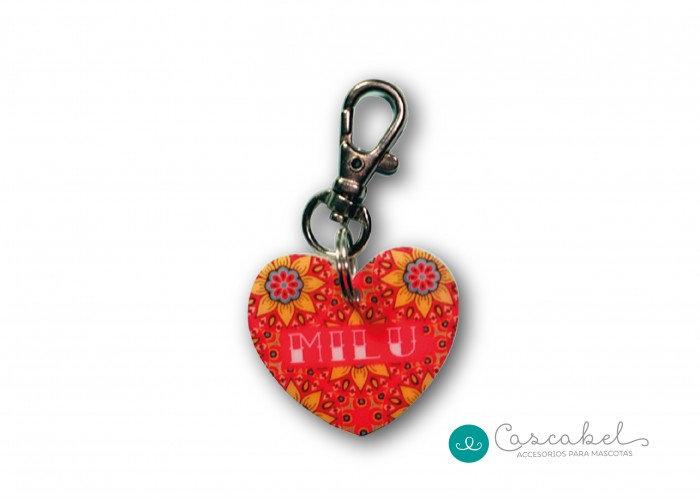 "Plaquita personalizada ""Corazón Mandala"""