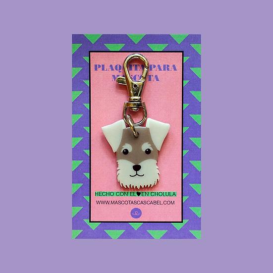"Plaquita ""Schnauzer"""