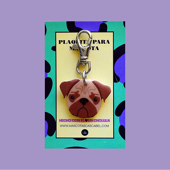"Plaquita ""Pug"""