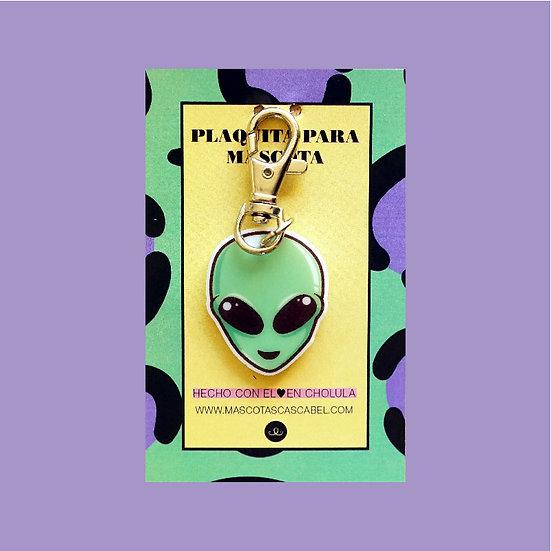 "Plaquita personalizada ""Alien"""